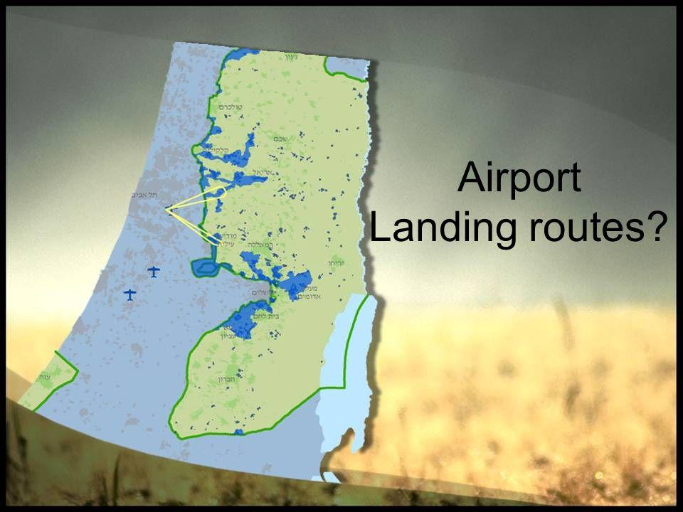 Airport Landing routes?