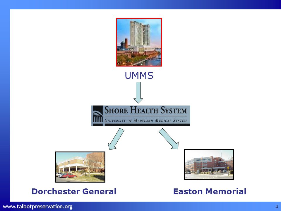 4 UMMS Dorchester GeneralEaston Memorial