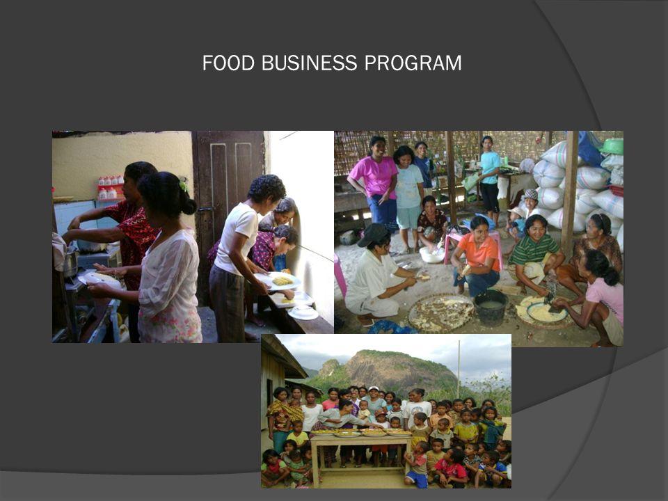 FOOD BUSINESS PROGRAM