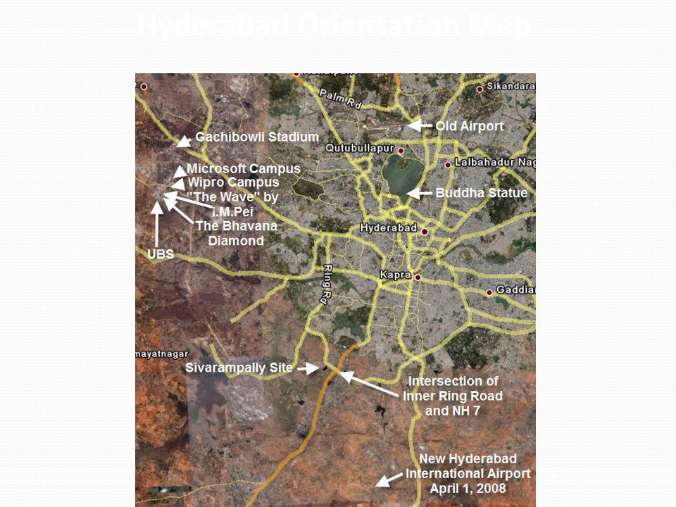 Hyderabad Orientation Map