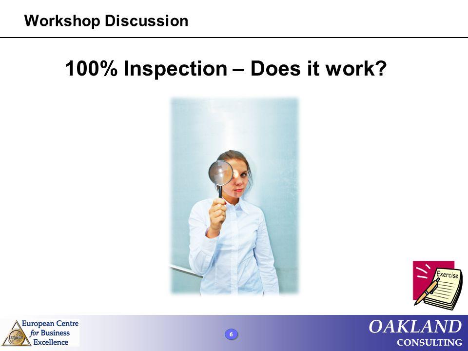 OAKLAND CONSULTING Process Improvement Methodologies