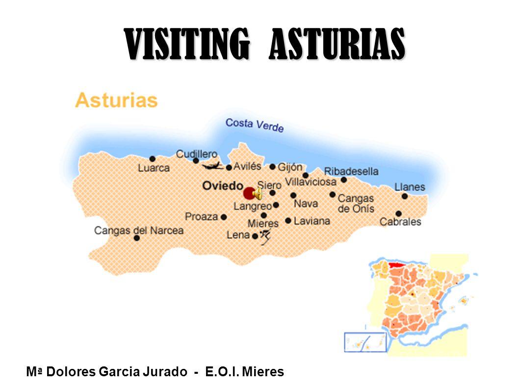 VISITING ASTURIAS M ª Dolores Garcia Jurado - E.O.I. Mieres