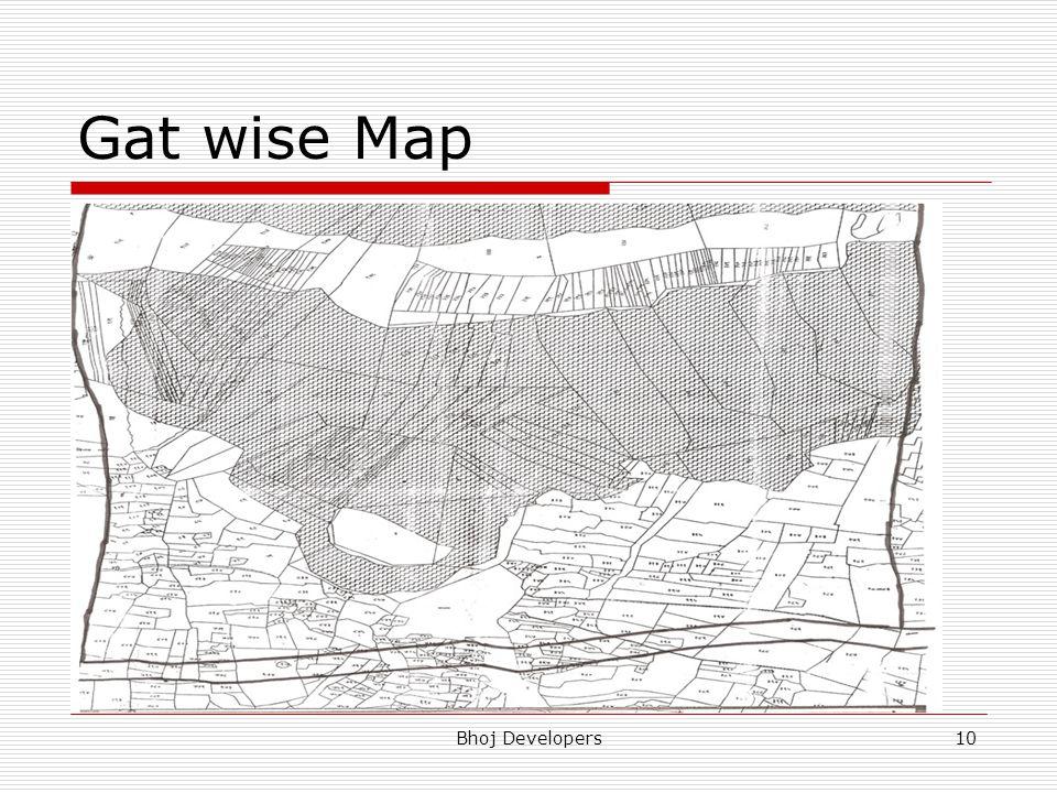 Gat wise Map Bhoj Developers10