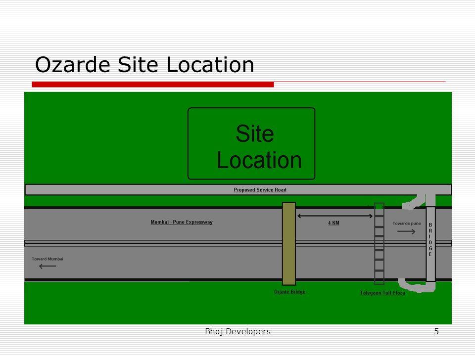 Bhoj Developers5 Ozarde Site Location