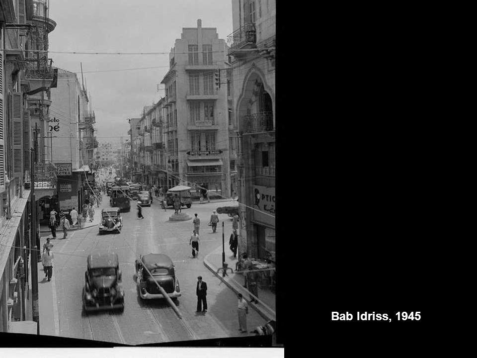 Bab Idriss, 1945