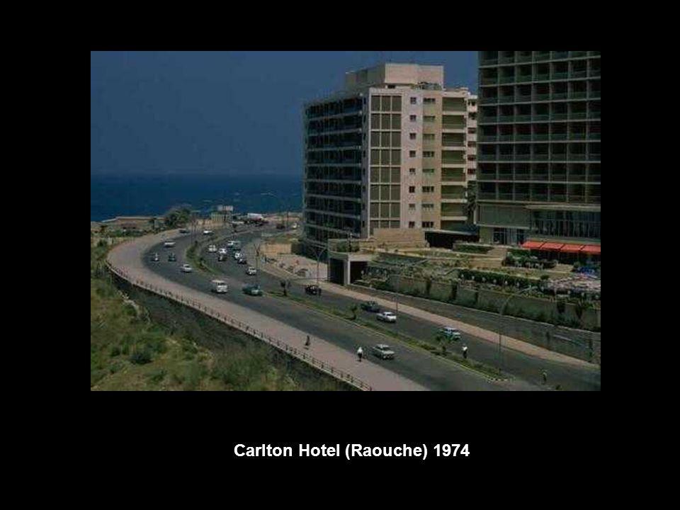 Carlton Hotel (Raouche) 1974