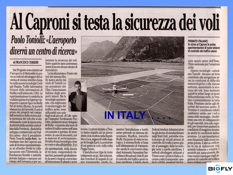 IN ITALY....