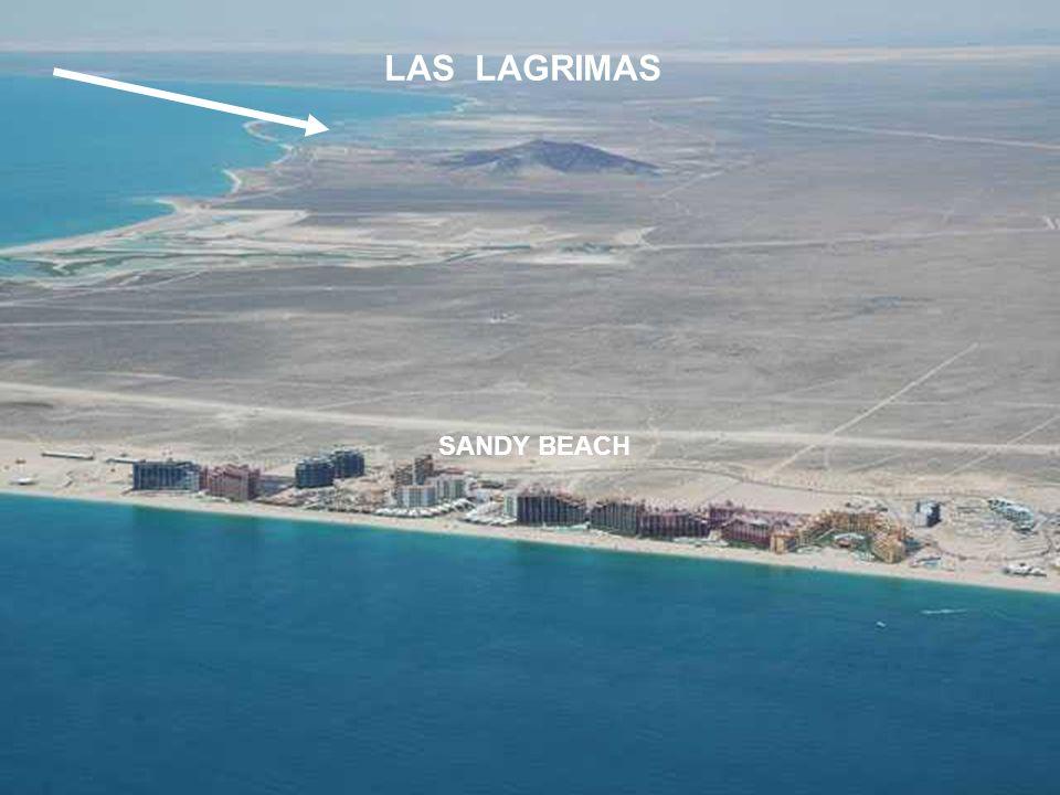 LAS LAGRIMAS SANDY BEACH