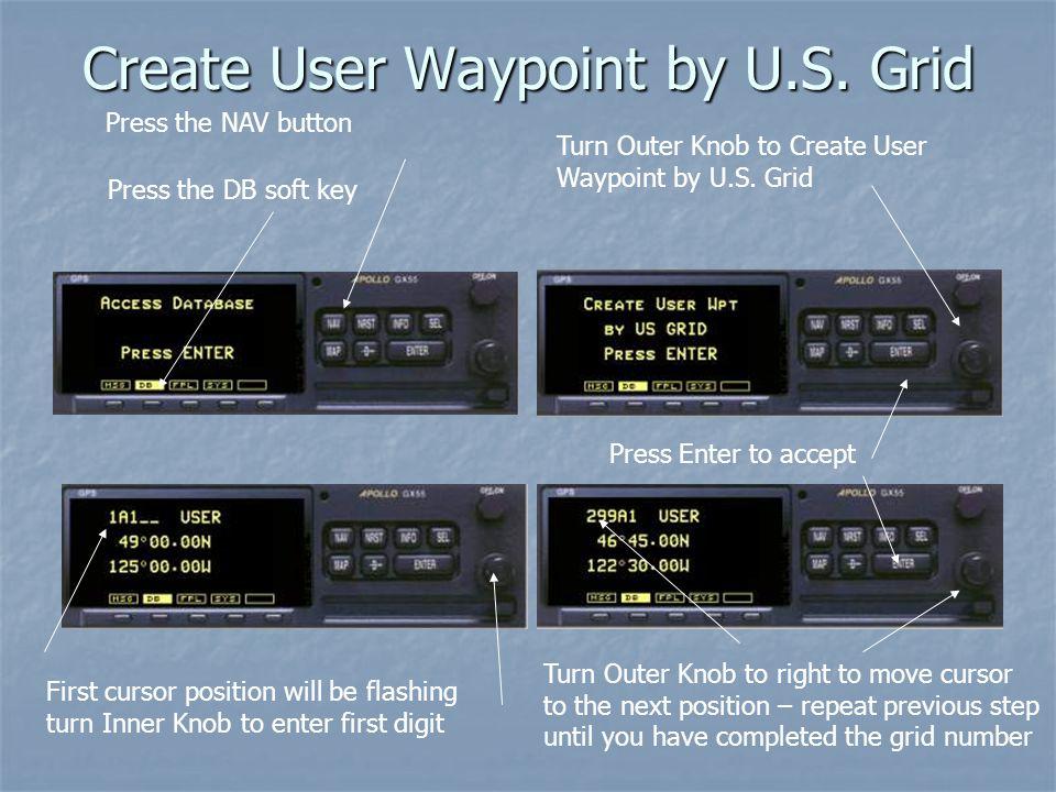 Create User Waypoint by U.S.