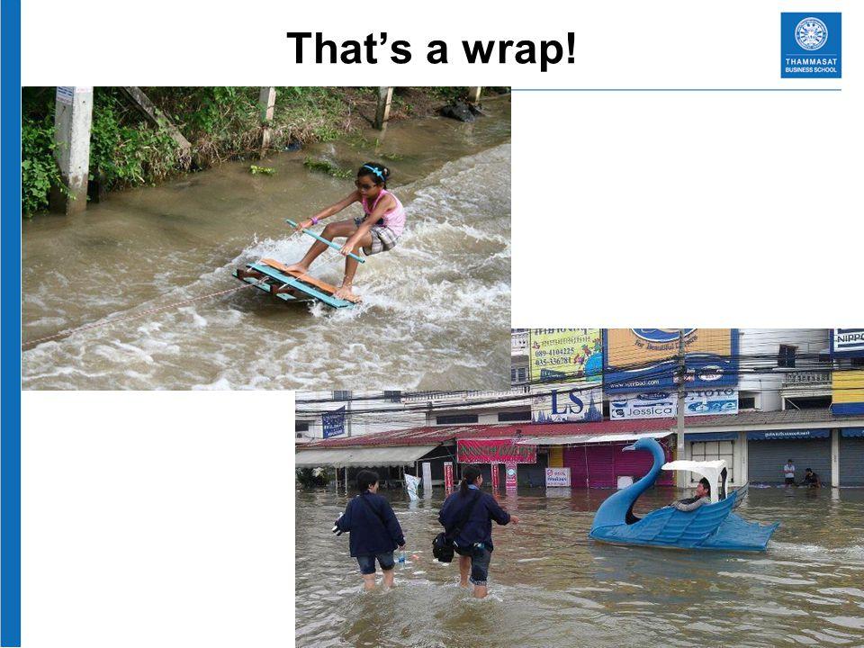 Thats a wrap!