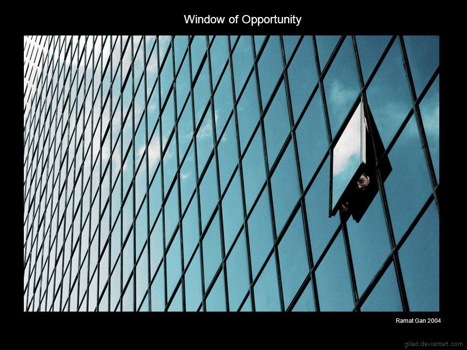 gilad.deviantart.com Window of Opportunity Ramat Gan 2004