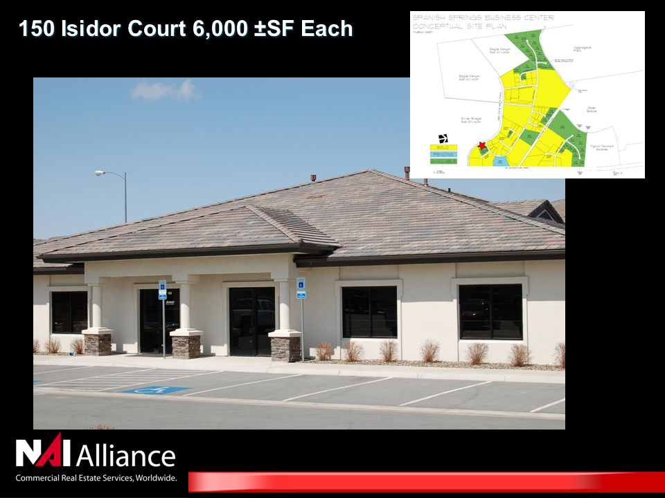 150 Isidor Court 6,000 ±SF Each