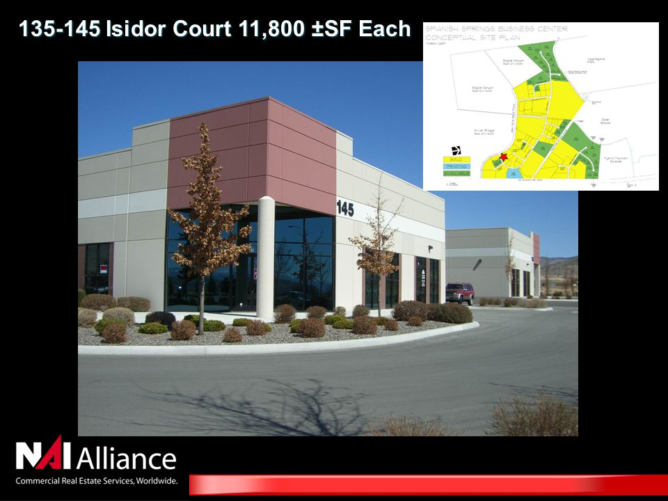 135-145 Isidor Court 11,800 ±SF Each