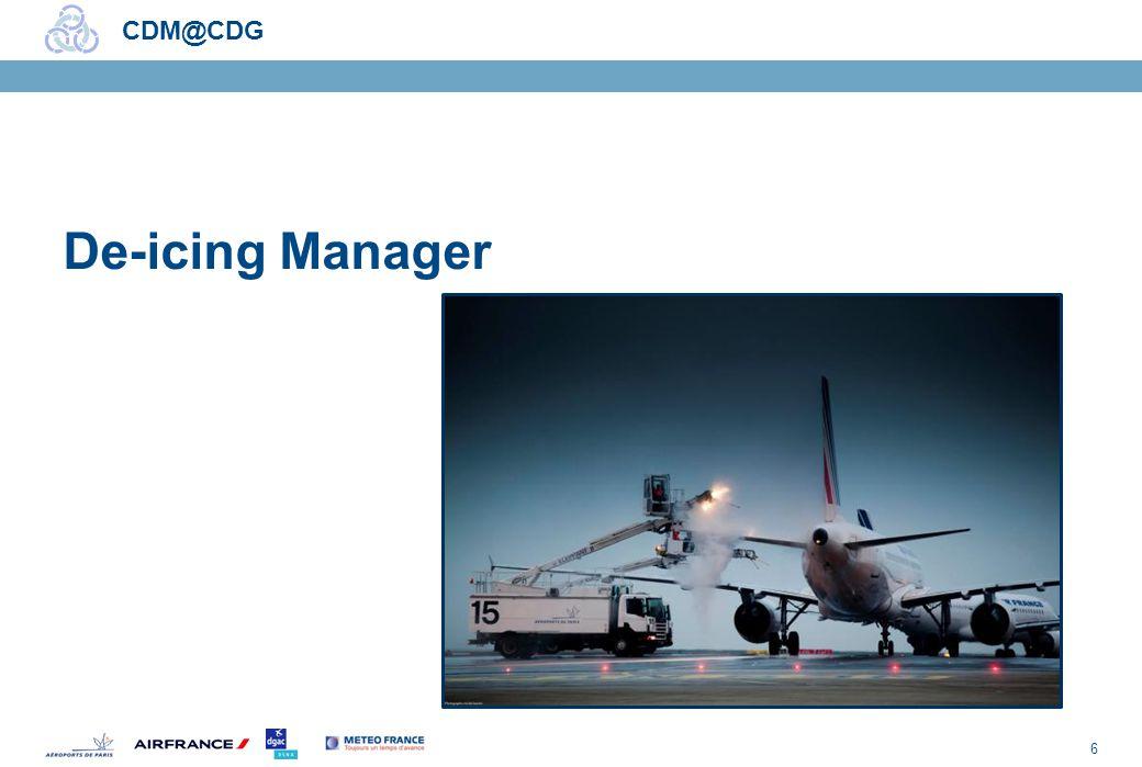 6 CDM@CDG De-icing Manager