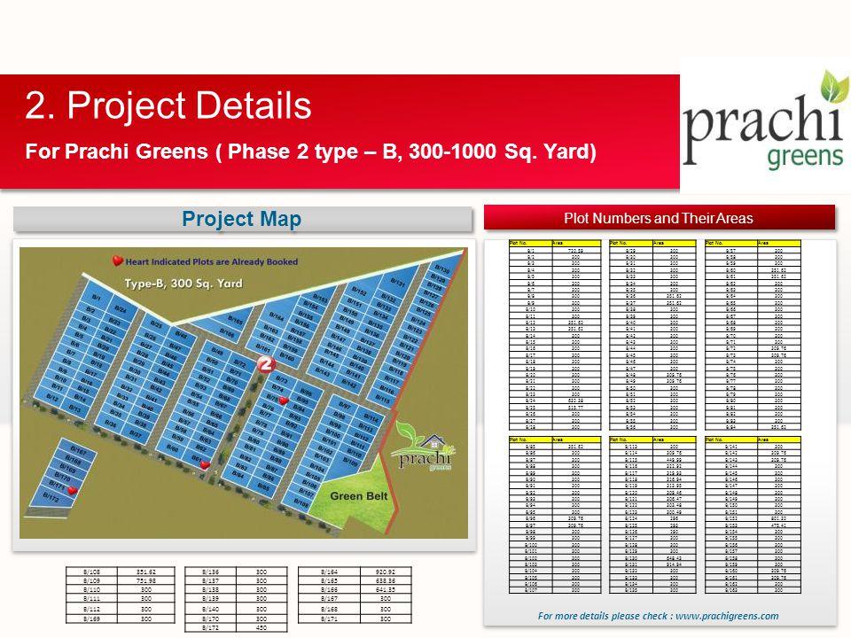 For Prachi Greens ( Phase 2 type – B, 300-1000 Sq.