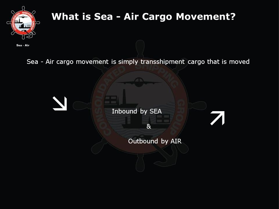 What is Sea - Air Cargo Movement.