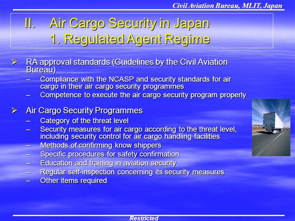 Civil Aviation Bureau, MLIT, Japan RA approval standards (Guidelines by the Civil Aviation Bureau) RA approval standards (Guidelines by the Civil Avia
