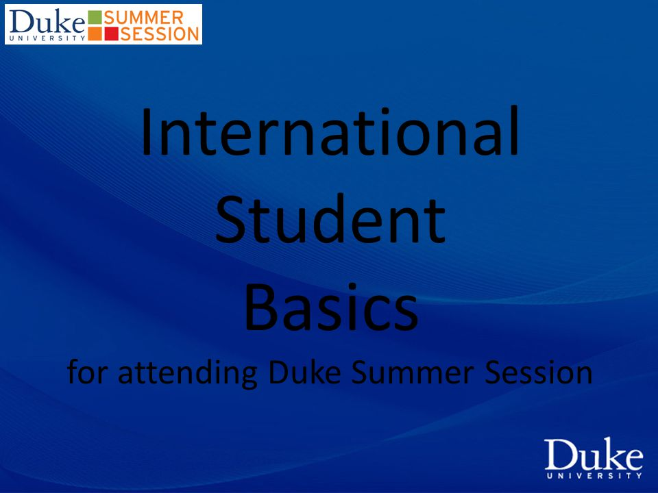 1.Complete the Summer Session applicationSummer Session application For your information...