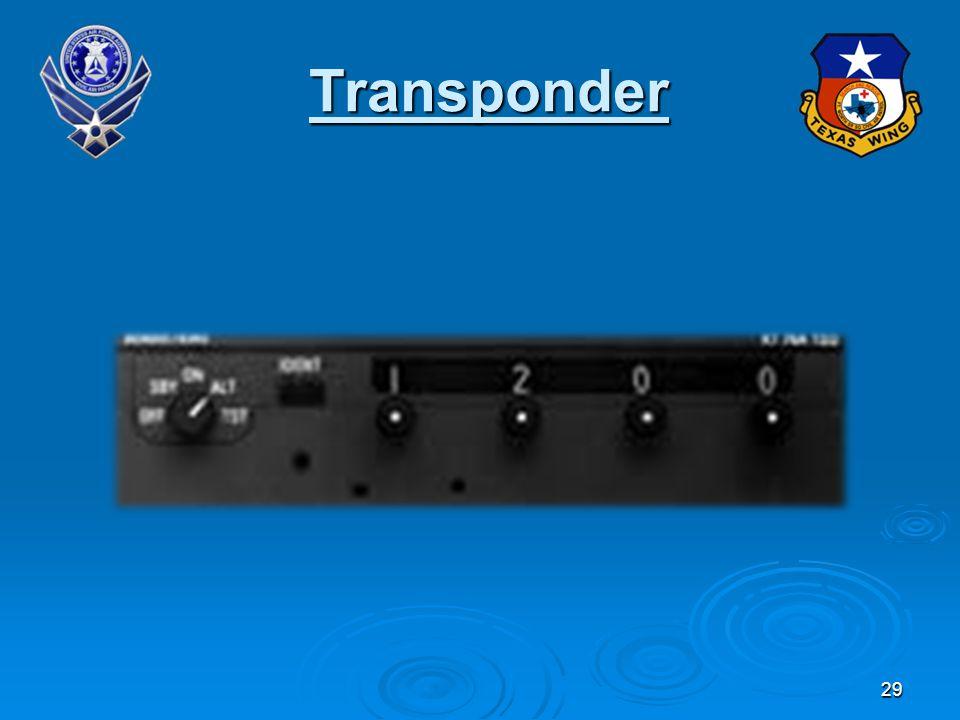 29 Transponder
