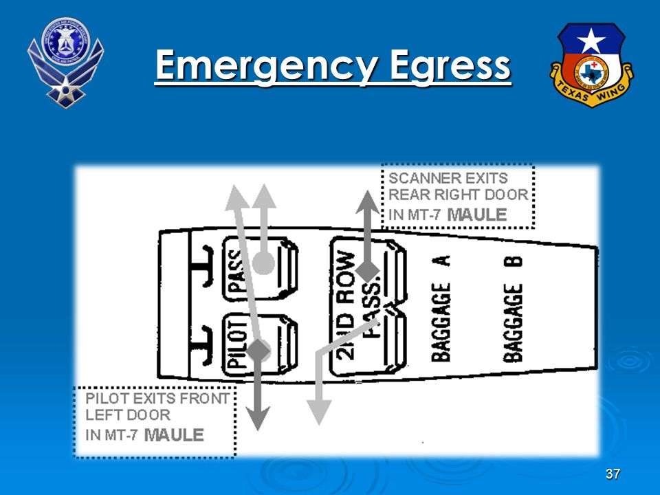 37 At Emergency Egress