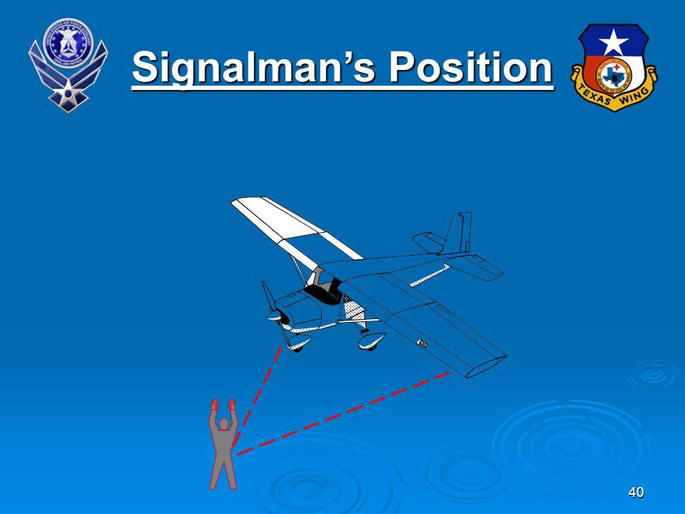40 Signalmans Position