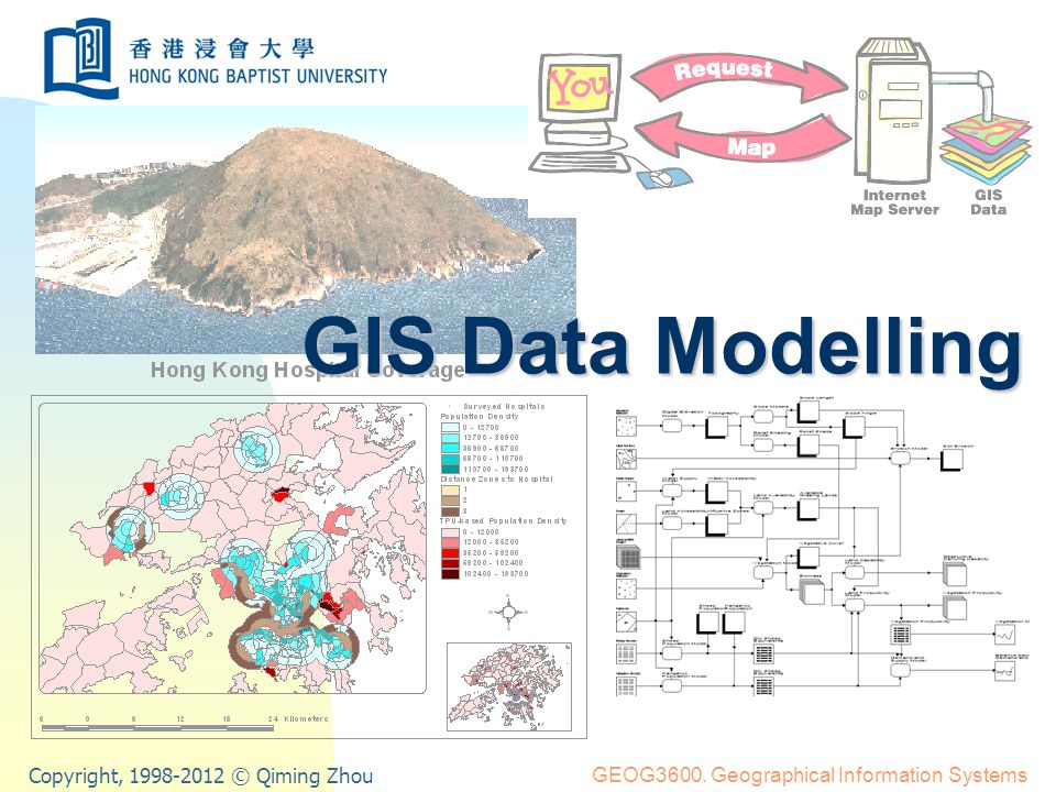 GIS Data Modelling21 Cartographic model (cont.) 1 2 3 1 2 3 Topography Soil types Forest types Buildings Real world 3 3 3 3 3 3 3 3 3 3 3 1 1 3 3 3 3 1 1 1 1 3 1 1 1 1 1 1 1 1 1 2 2 1 1 2 2 2 2 2 2 1 2 2 2 2 2 1 1 Soils