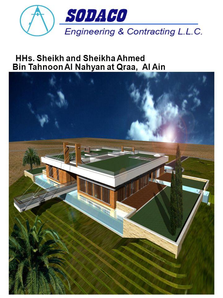HHs. Sheikh and Sheikha Ahmed Bin Tahnoon Al Nahyan at Qraa, Al Ain