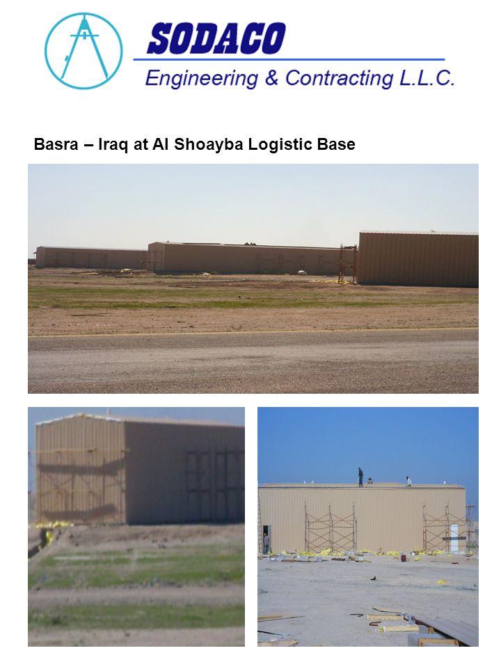 Basra – Iraq at Al Shoayba Logistic Base