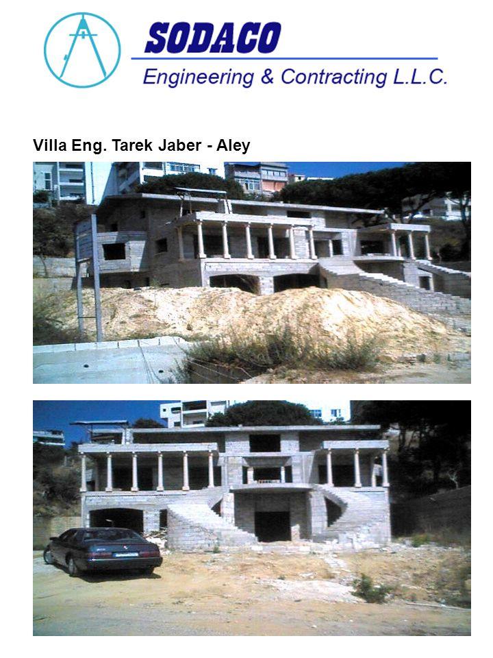 Villa Eng. Tarek Jaber - Aley
