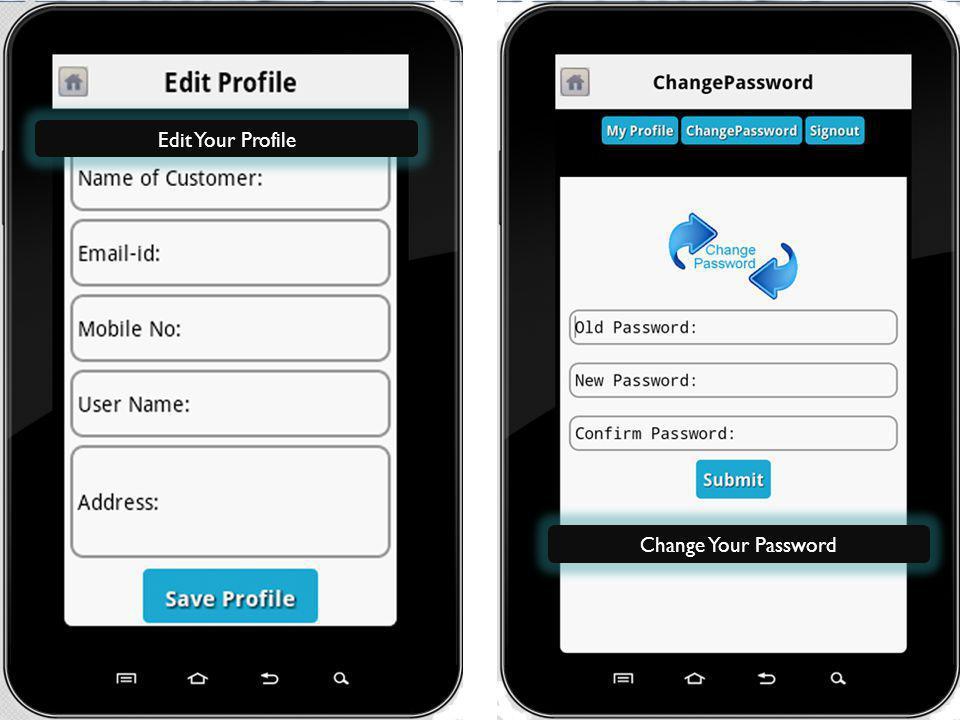 www.itbrahma.com Edit Your Profile Change Your Password