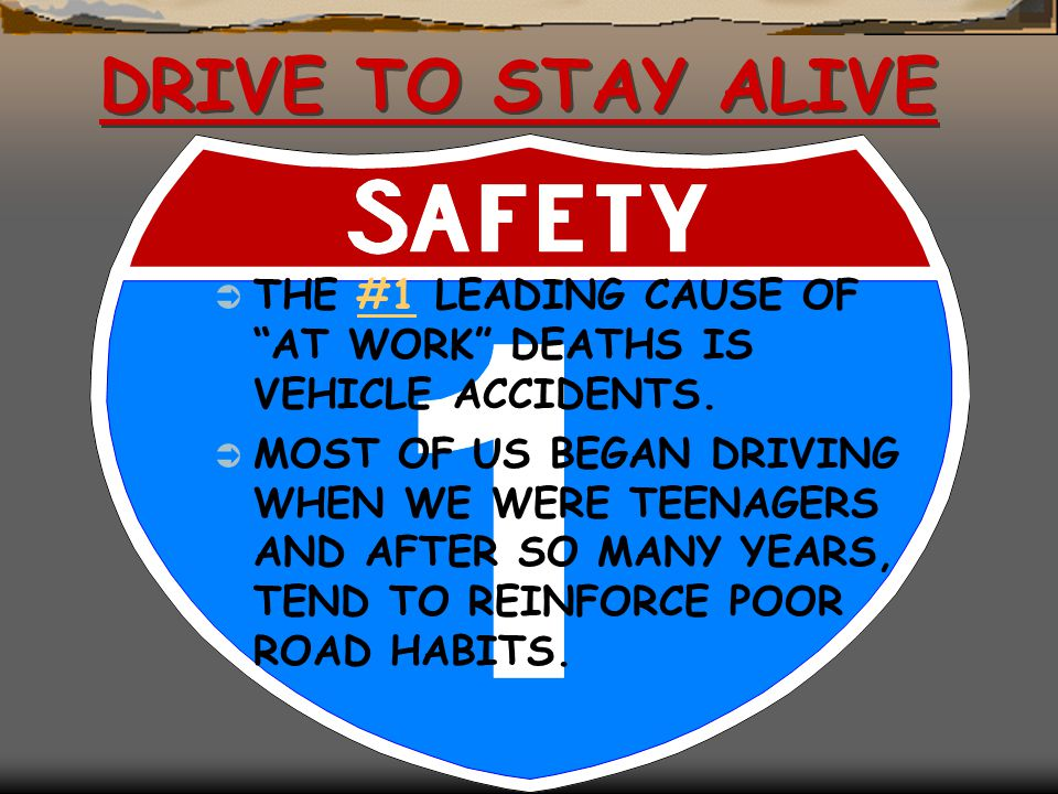 Driving Safety (continued) Use of Seat Belts Van Facts Accidents Q & A