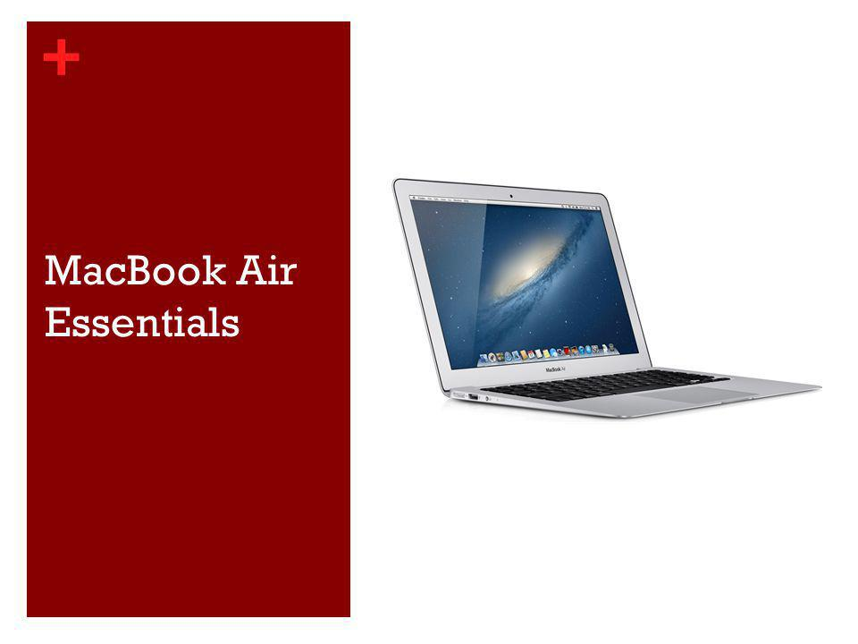 + MacBook Air Essentials