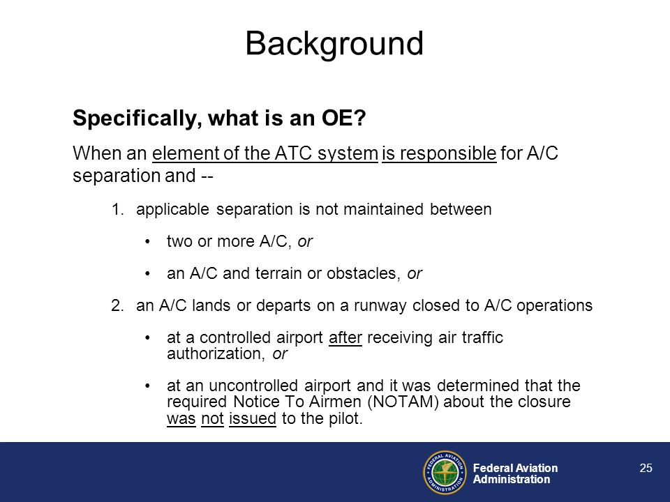 Federal Aviation Administration 24 Whats The Definition of Insanity.