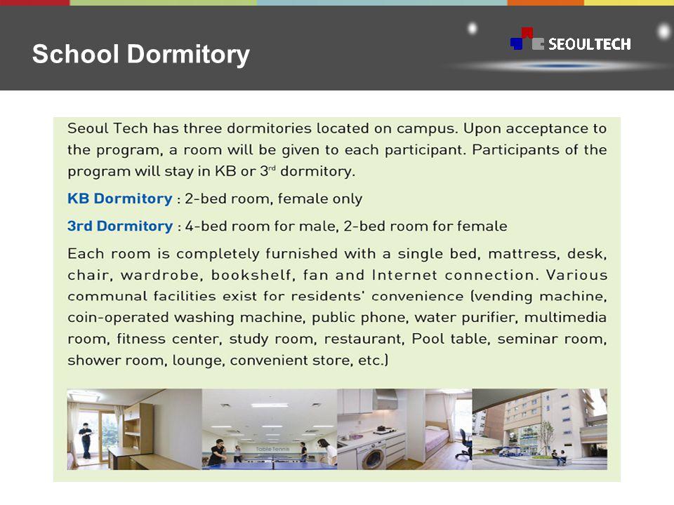 School Dormitory