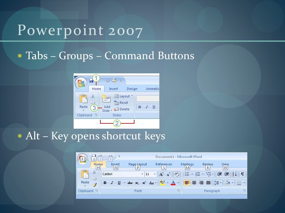 Powerpoint 2007 Home