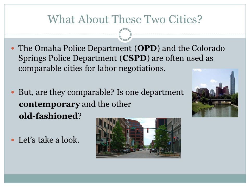 OPD Is An Out-of-Date Department OPDs community outreach, education, or partnering are minimal.