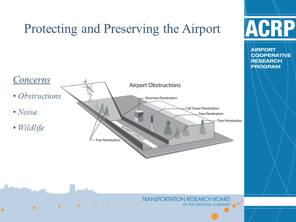 Concerns Obstructions Noise Wildlife Protecting and Preserving the Airport