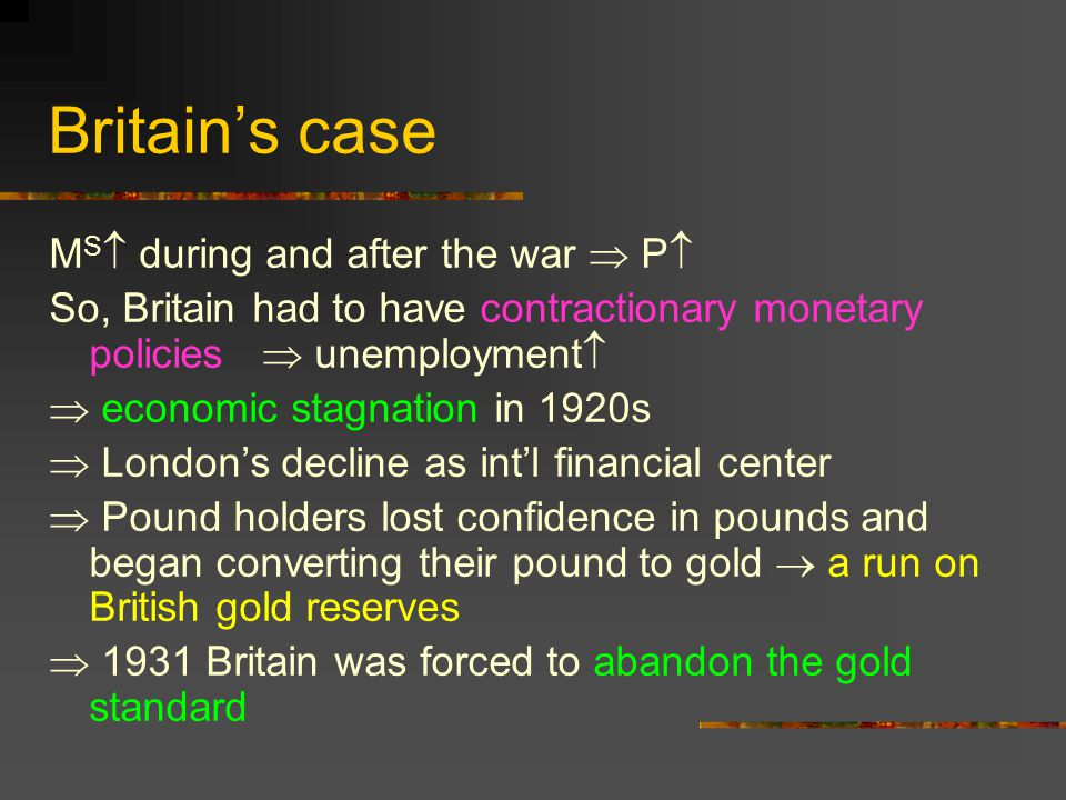 Floating Exchange Rates: 1973 - Speculative attacks on the pound and the lira 1972: Britain allowed the pound to float.