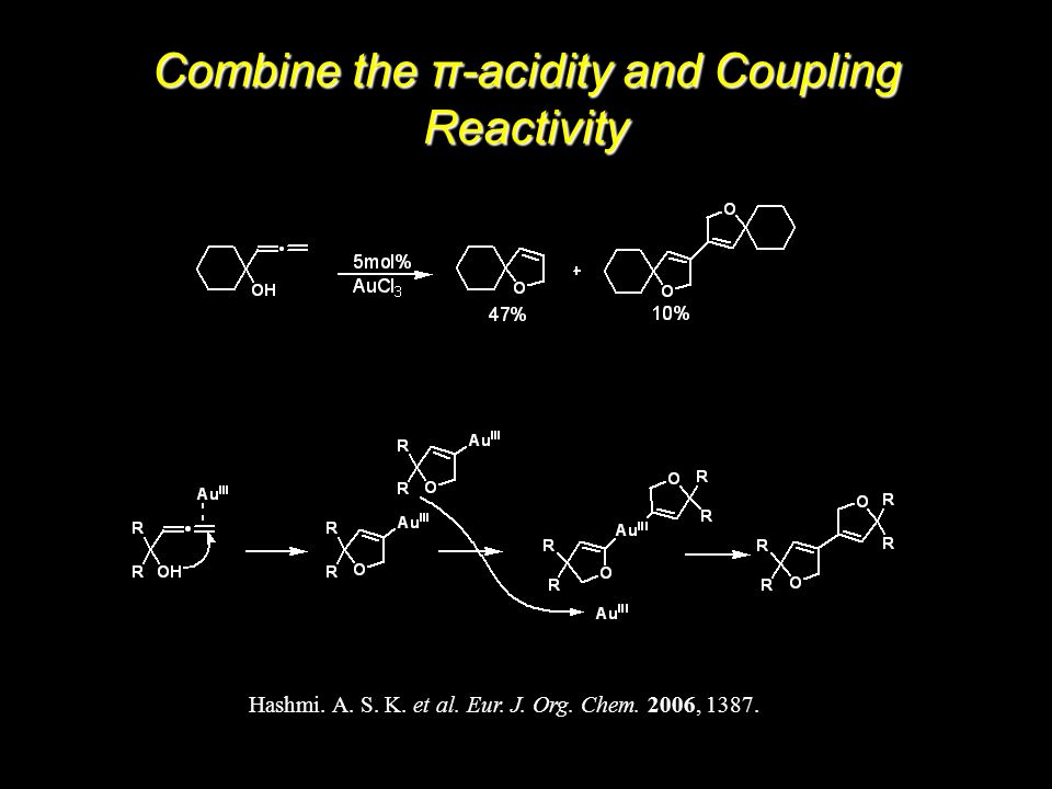 Hashmi. A. S. K. et al. Eur. J. Org. Chem. 2006, 1387.