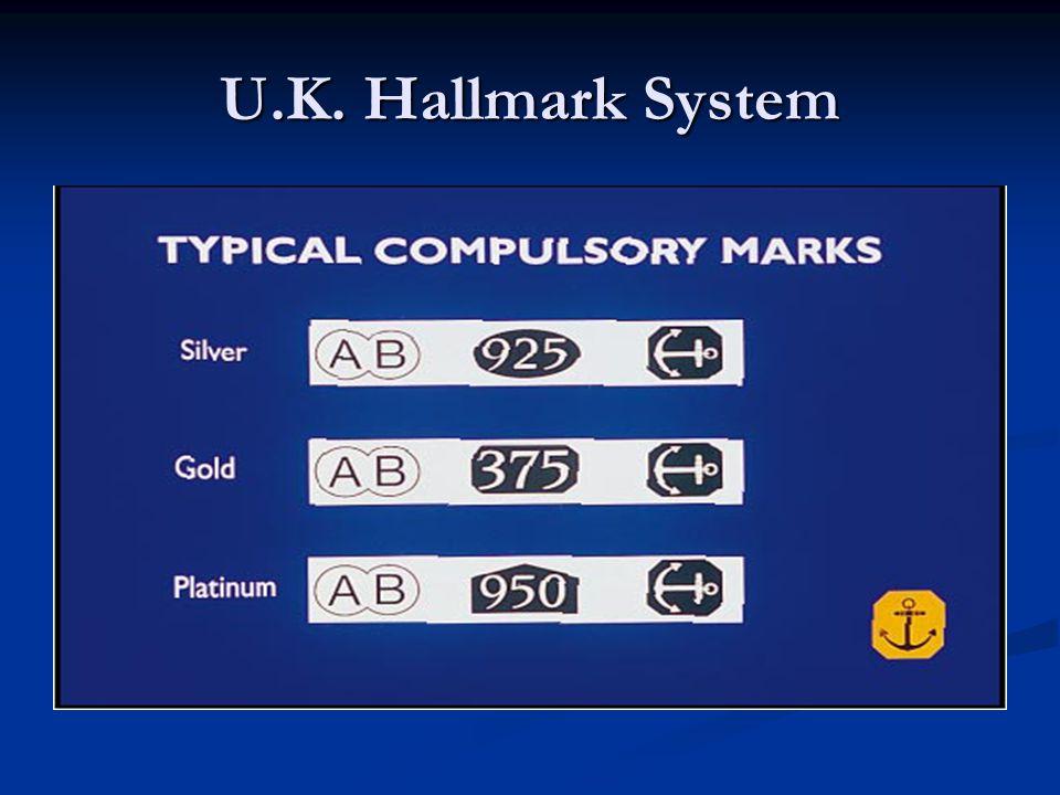 U.K. Hallmark System