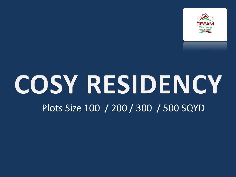 Plots Size 100 / 200 / 300 / 500 SQYD