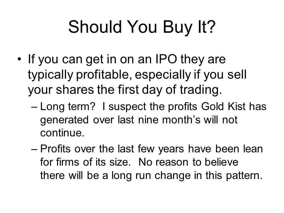 Should You Buy It.