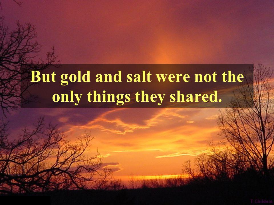 Gold Big Desert Salt