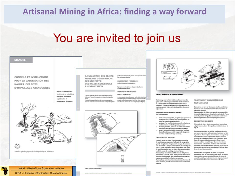 Annual Sponsors Meeting, Dakar 2-4 May 2012 22 © – Not for duplication or circulation without permission Artisanal Mining i n Africa: finding a way fo