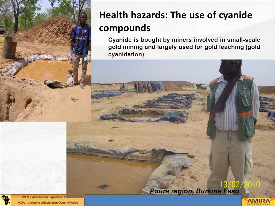 Annual Sponsors Meeting, Dakar 2-4 May 2012 8 © – Not for duplication or circulation without permission Health hazards: The use of cyanide compounds P