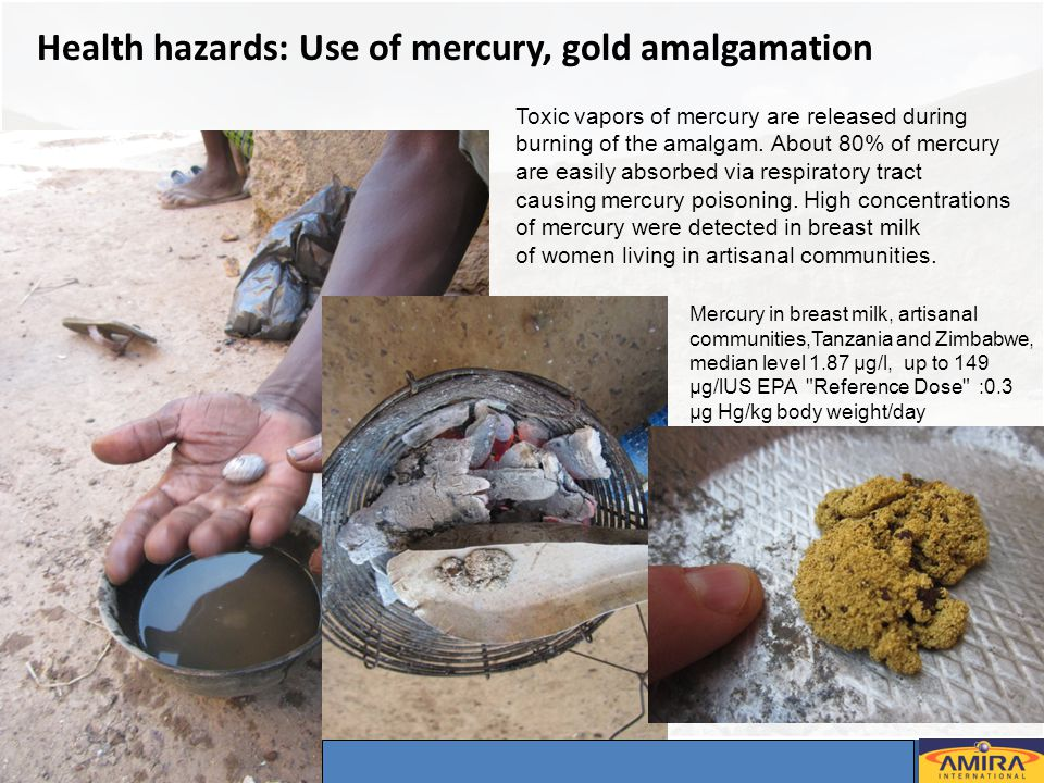 Annual Sponsors Meeting, Dakar 2-4 May 2012 9 © – Not for duplication or circulation without permission Health hazards: Use of mercury, gold amalgamat
