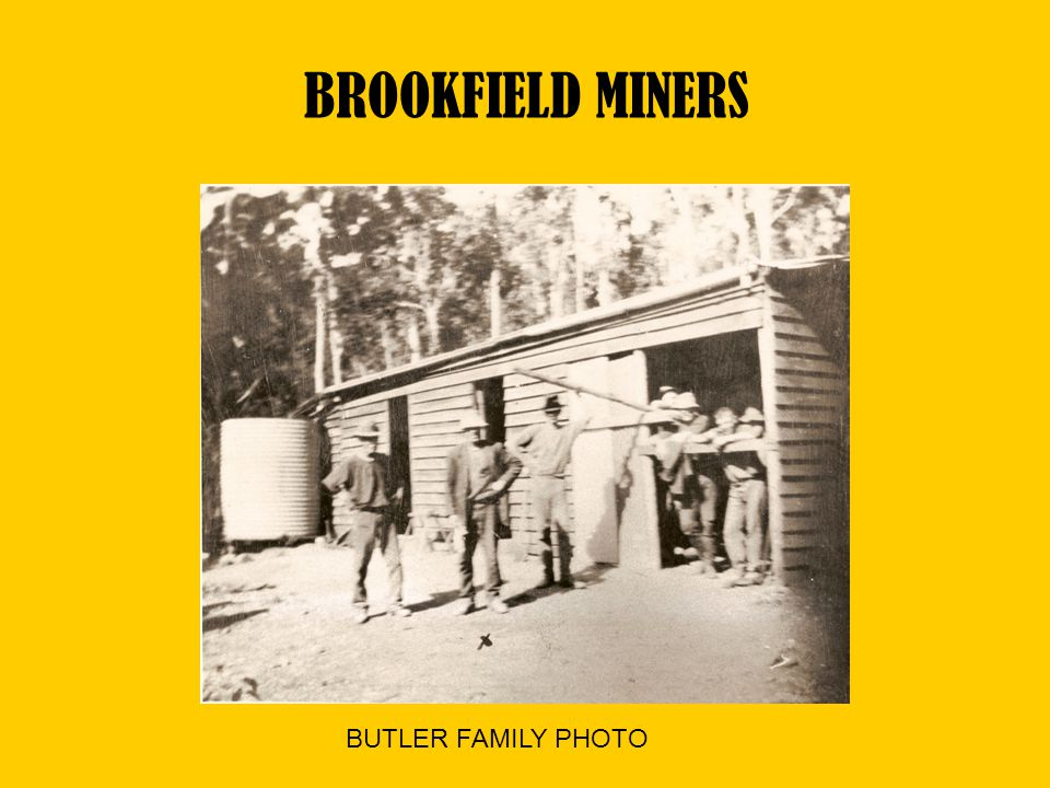 BROOKFIELD MINERS BUTLER FAMILY PHOTO
