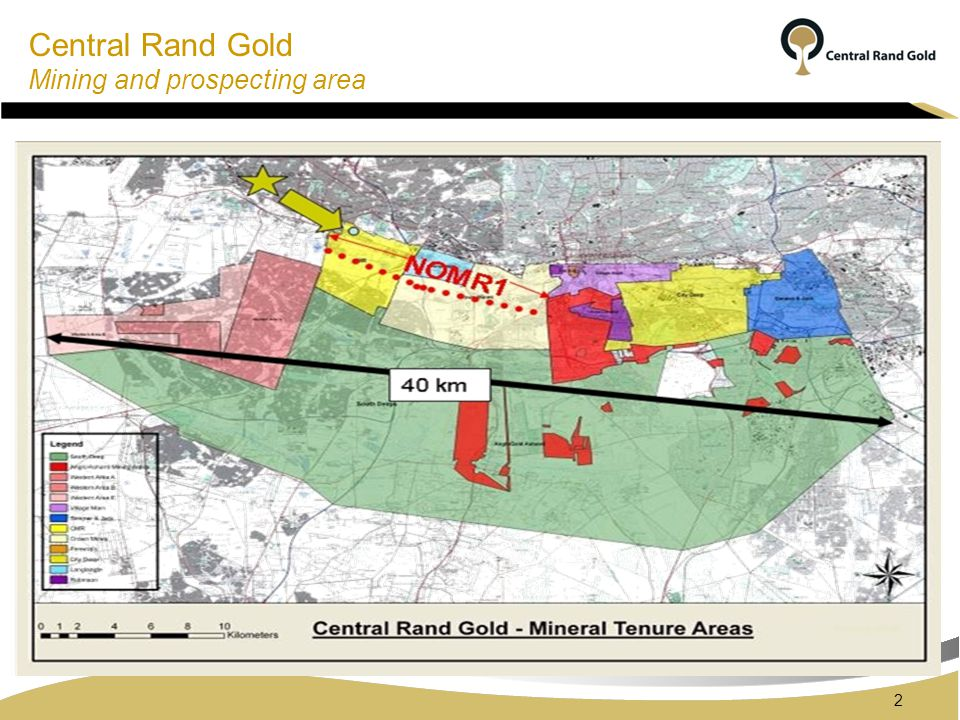 Central Rand Gold Background Between 1886 to the early 1970s the Central Basin was extensively mined.