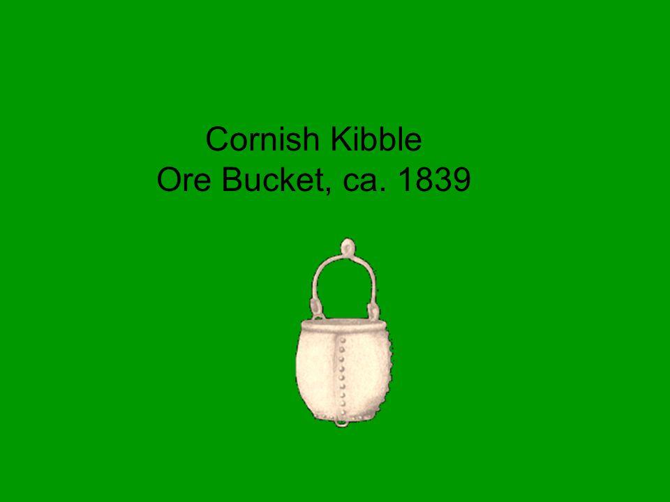 Cornish Kibble Ore Bucket, ca. 1839
