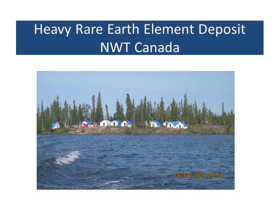 Heavy Rare Earth Element Deposit NWT Canada
